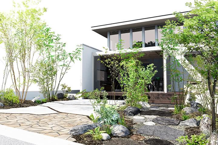 造園CADによるイメージ